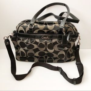 Coach Addison tote style diaper bag